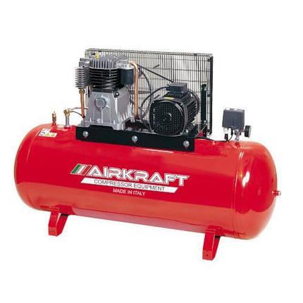Компрессор высокого давления 15bar, 300л, 858л/мин, 380В, 5,5кВт AIRKRAFT AK300-15BAR-858-380, фото 2