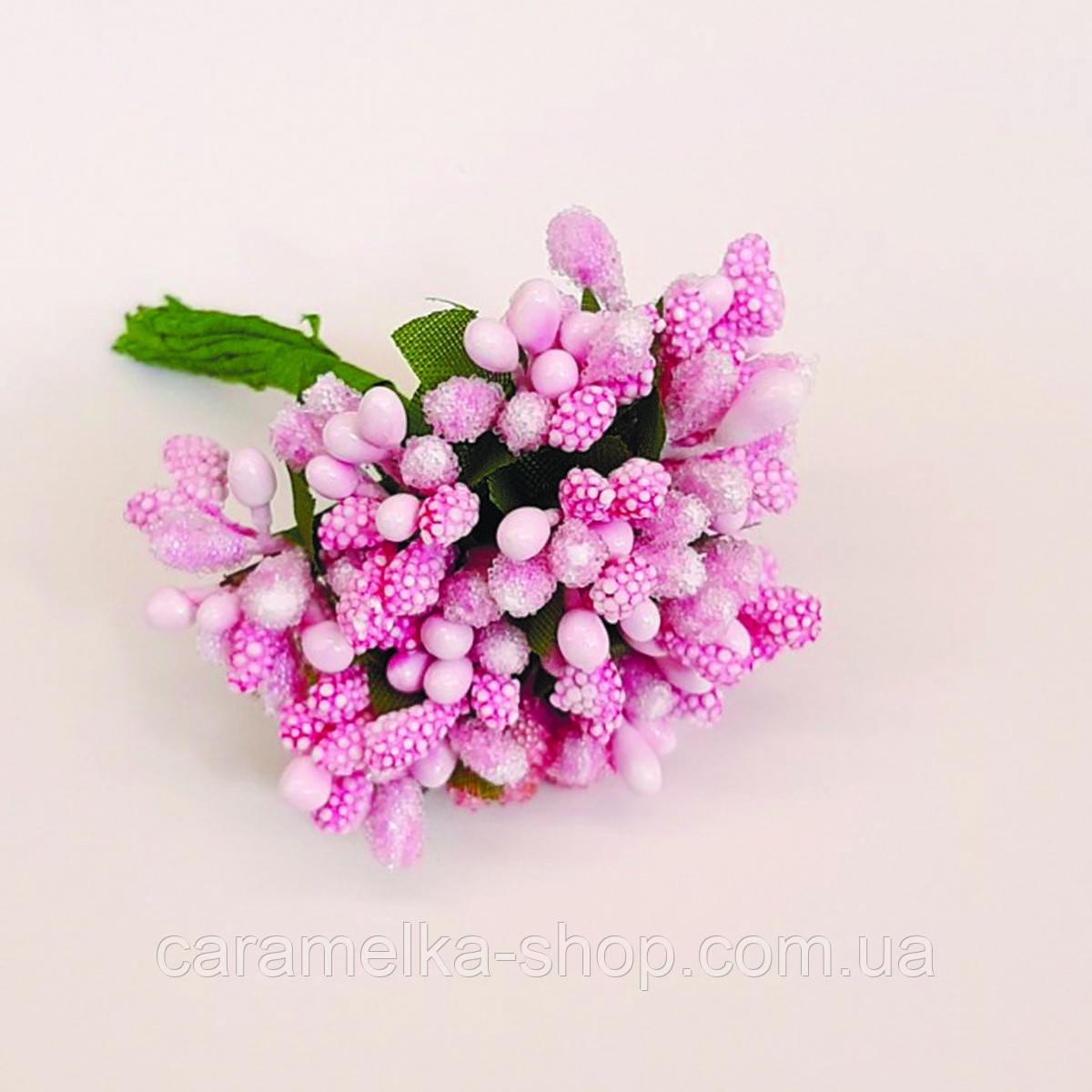 Тичинки рожеві