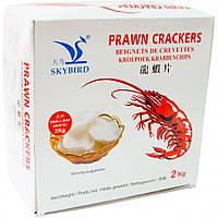 Рисовые Чипсы Skybird со вкусом креветки 2кг