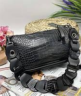 Женский сумка на плечо 093 черный женские клатчи, женские сумки купить оптом в Украине, фото 1