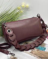 Женский сумка на плечо 093 бордовый женские клатчи, женские сумки купить оптом в Украине