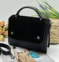 Женский сумка на плечо 092 черный женские клатчи, женские сумки купить оптом в Украине, фото 1