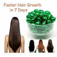 Витаминные тайские капсулы для для роста и укрепления волос Super Long Hair зеленые капсулы, от 10 капс.
