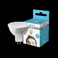 Светодиодная лампа Ilumia рефлектор 5Вт, цоколь GU5.3, 3000К (теплый белый), 500Лм (017), фото 1