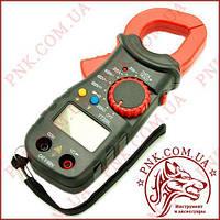 Клещи токоизмерительные Digital YT-306L, токовые клещи с подсветкой