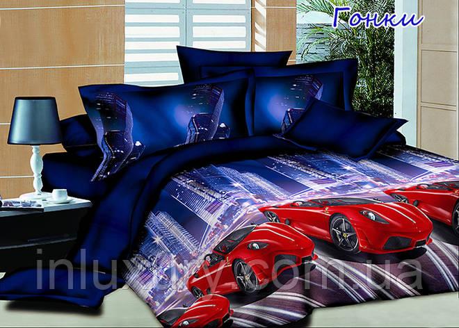 Комплект постельного белья Гонки, фото 2