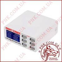 Зарядное устройство на 6 USB портов, 5A, 30W, индикатор тока заряда, защита от КЗ, SS-304D (WLX-899)