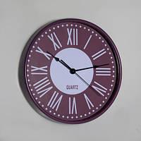 Настенные часы с римскими цифрами (30х4 см)