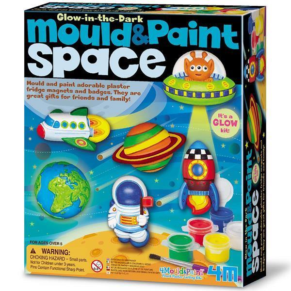 Набор для творчества 4M Магниты из гипса Космические объекты (00-03546)