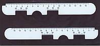 Линейка ― пупиллометр  PDR01 для подбора очков
