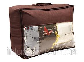 "Одеяло лебяжий пух ""Мишки син."" 1.5-сп. + 1 подушка 40х60, фото 3"