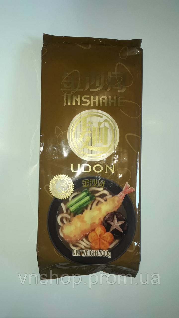 Пшеничная лапша Удон Jinshake (900г) (Китай)