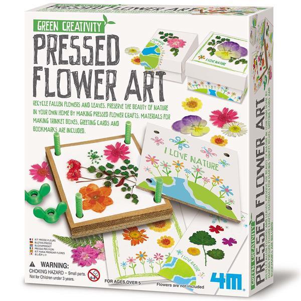 Пресс для цветов 4M Декор из гербария (00-04567)