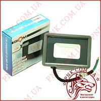 Светодиодный прожектор BIOM 10W, 108мм.*100мм.*24мм. холодный (6200K), SMD 2835