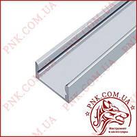 Профиль алюминиевый BIOM 15мм.*6.5мм 2 метра палка, неанодированный