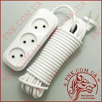 Сетевой удлинитель SVITTEX SV-008-10 10м, 3 розетки, 2.2кВт