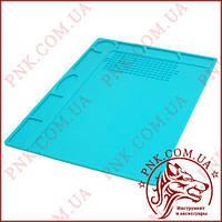 Силіконовий килимок для пайки і ремонту 320*230, термоковрик для розбирання електроніки