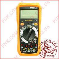 Мультиметр универсальный Digital DT-9205A+, автоотключение, защитный корпус, измеритель емкости