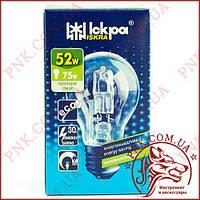 Лампочка ISKRA 52W E27 ECO энергосберегающая, галогенная
