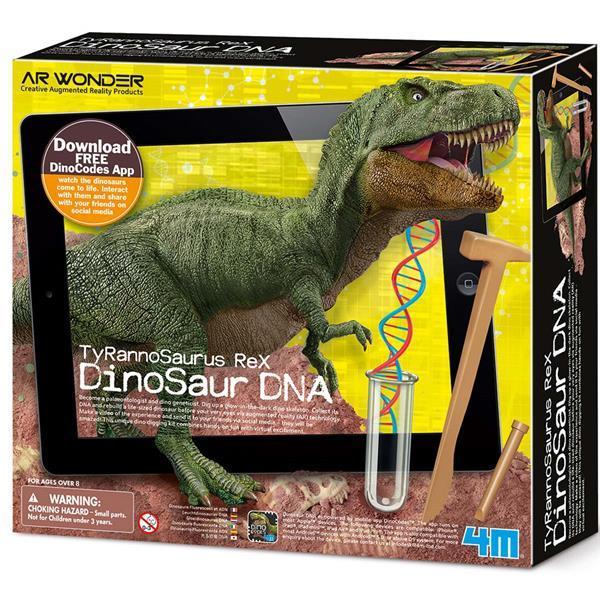 Набор для раскопок 4M ДНК динозавра Тираннозавр (00-07002)