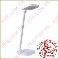 Лампа светильник настольный LED 8W сенсор, диммер, уровни яркости, USB TL-08W белый