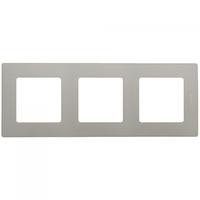Рамка 3-постовая «Этика» – «Легранд», цвет «светлая галька»
