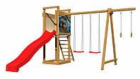 Детская  деревянная площадка для улицы SportBaby-4, фото 2