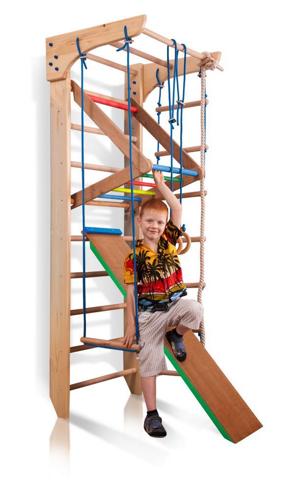 Дерев'яний дитячий спортивний комплекс «Kinder 3-220»