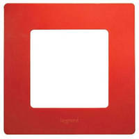 Рамка 1-постовая «Этика» – «Легранд», цвет «красный»