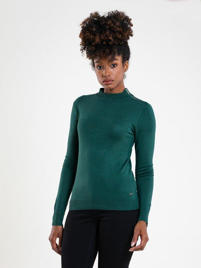 Гольф женский BS CALLIOPE SWEATER 302 DARK GREEN