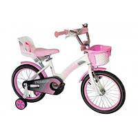 Детский велосипед 16 дюймов для девочек Crosser Kids Bike (14, 18 дюймов)
