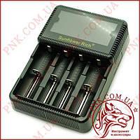 Универсальное интеллектуальное зарядное устройство SUNFLOWER RICH для разных типов аккумуляторов