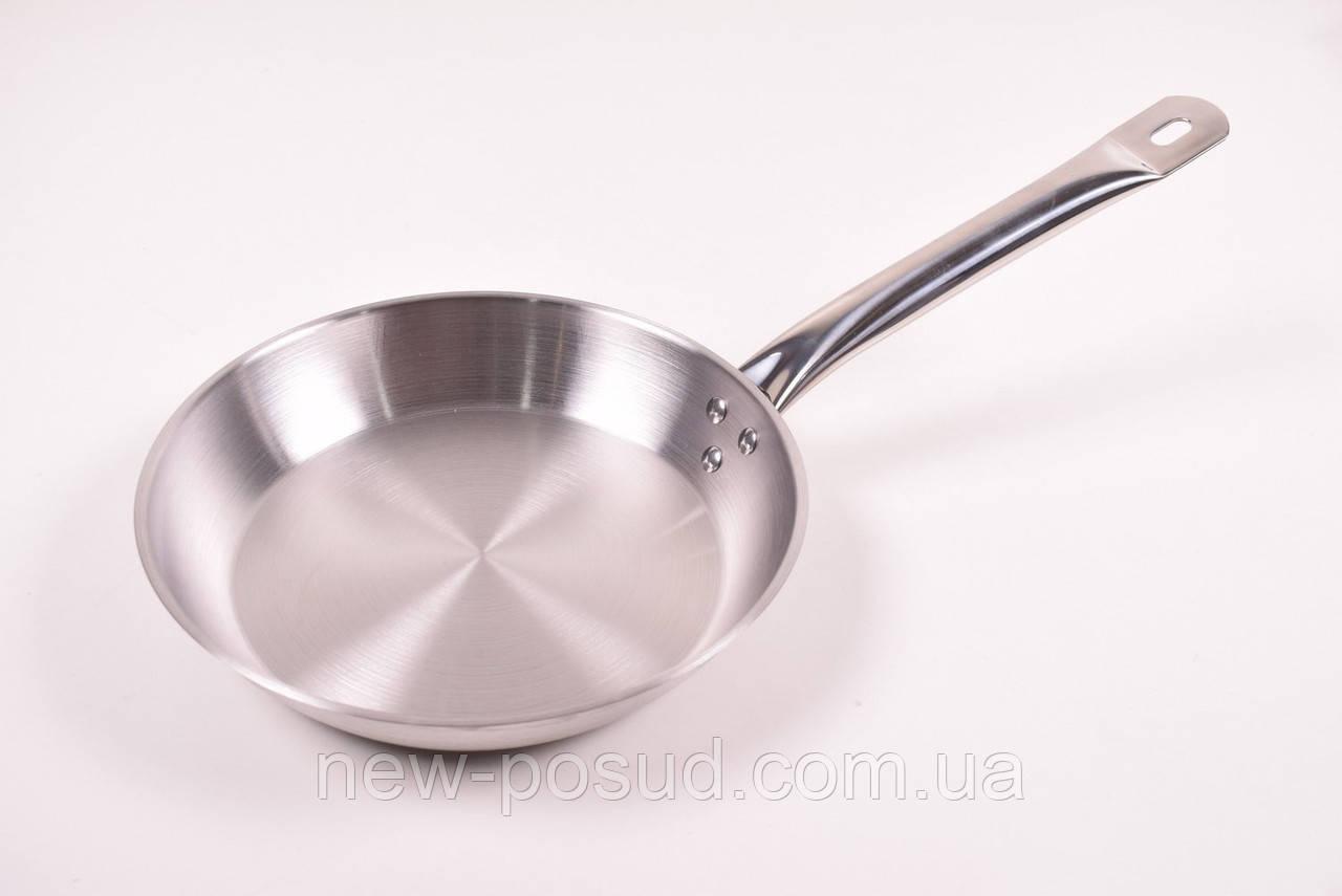 Сковорода из нержавеющей стали D 26 см Benson BN-636