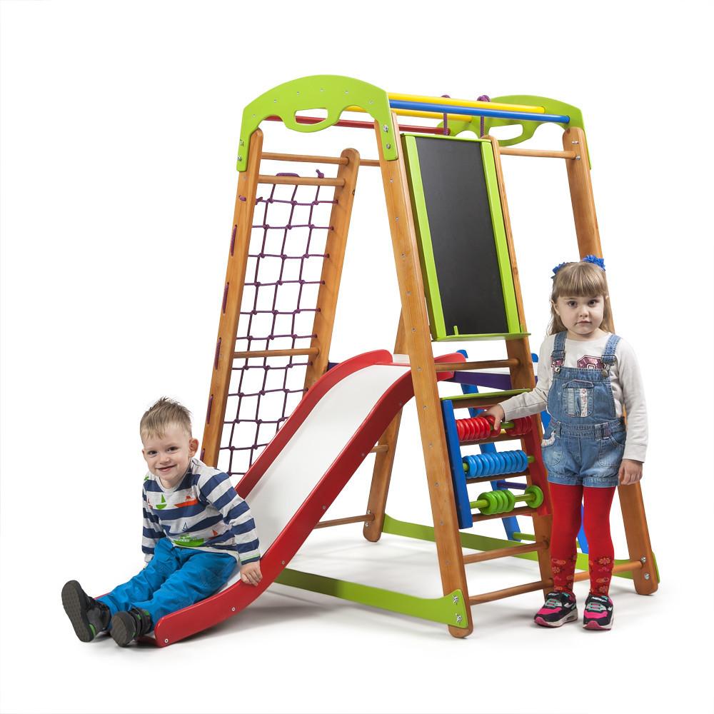 Дитячий спортивний куточок для дітей - «Малюк - 2 Plus 3»