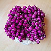 Ягоды сахарные лиловые (фуксия) 40 шт