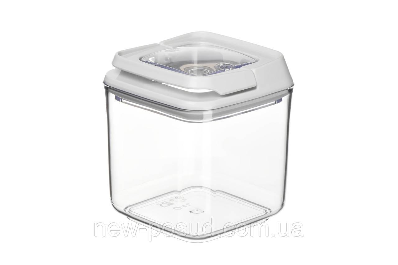 Контейнер для сыпучих продуктов вакуумный 0,7 л Ardesto Fresh AR1307WP