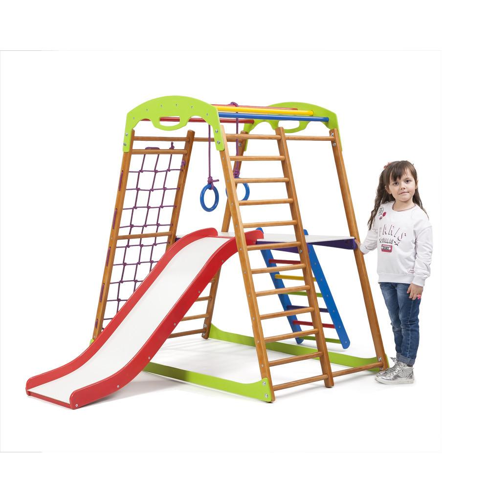 Дерев'яний дитячий спортивний комплекс BabyWood Plus 2