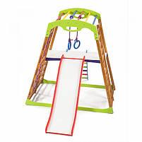 Дерев'яний дитячий спортивний комплекс BabyWood Plus 2, фото 2