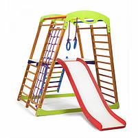 Дерев'яний дитячий спортивний комплекс BabyWood Plus 2, фото 3