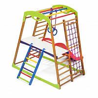 Дерев'яний дитячий спортивний комплекс BabyWood Plus 2, фото 4