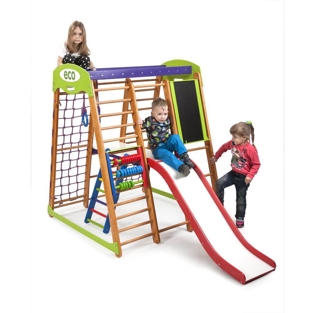 Многофункциональный спортивный комплекс для детей «Карапуз Plus 3»