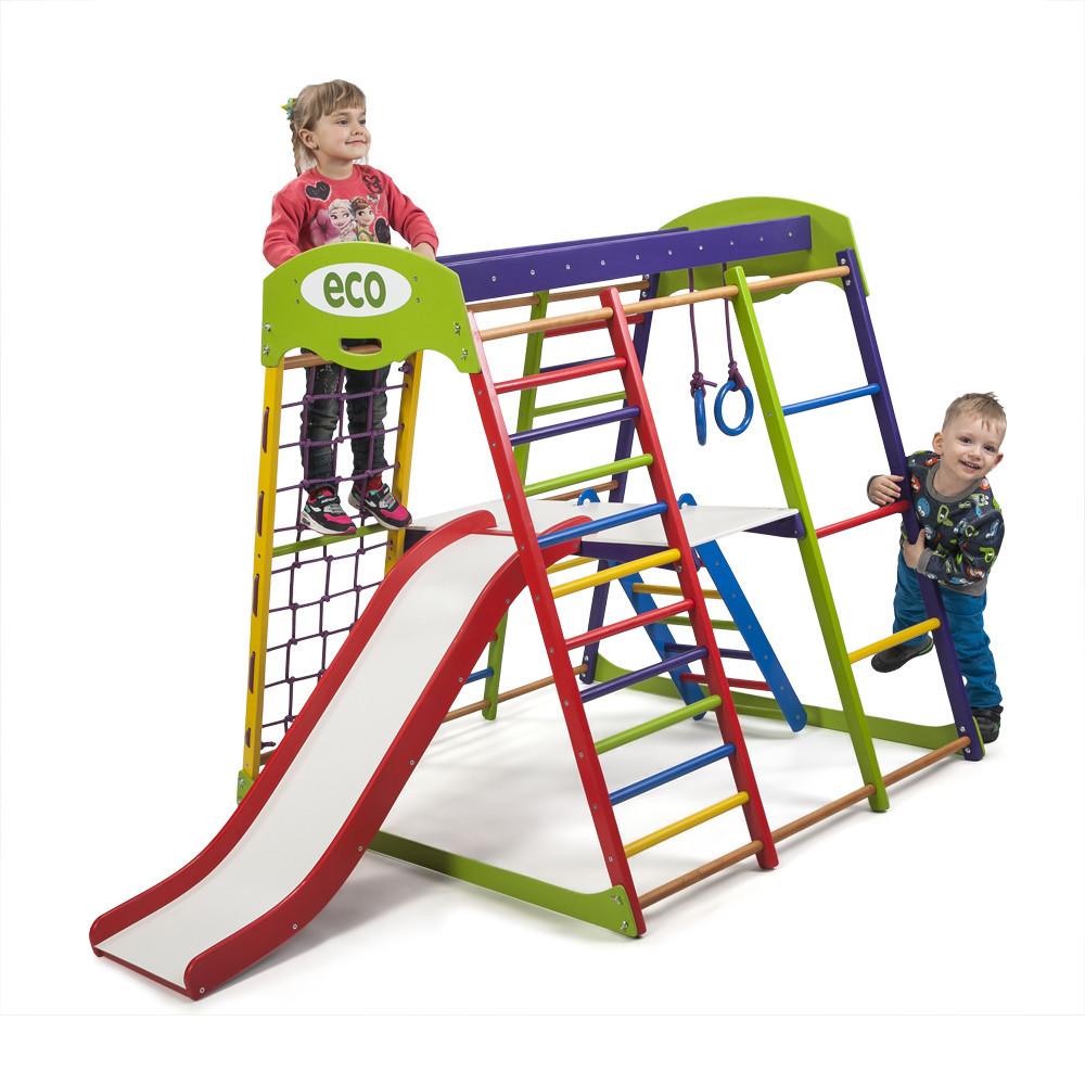 Деревянный детский спортивный комплекс «ЮнгаPlus 2»