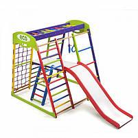 Деревянный детский спортивный комплекс «ЮнгаPlus 2», фото 4