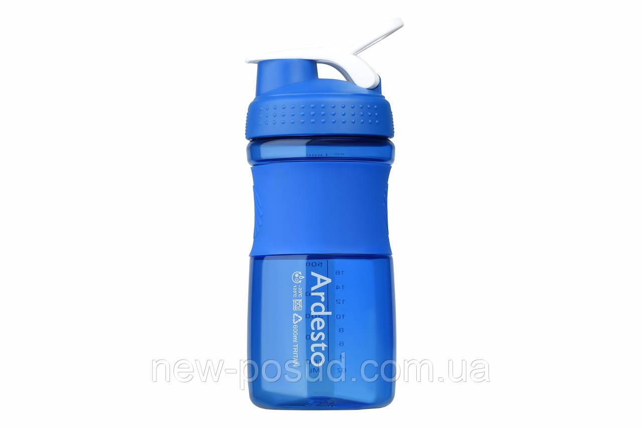 Детская бутылка для воды Ardesto Smart Bottle 600 мл AR2202TB