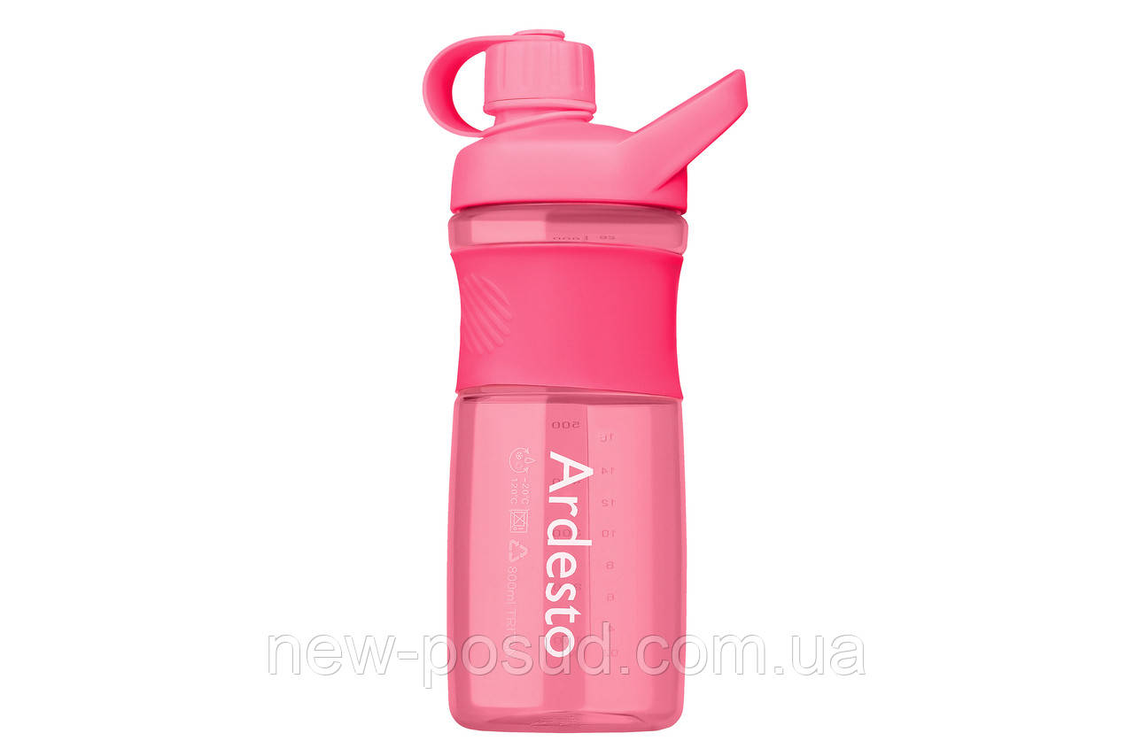 Бутылка для воды Ardesto Round Bottle 800 мл AR2203TR