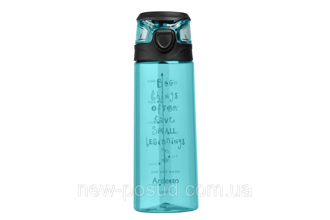 Пляшка для води Ardesto Big Things 700 мл AR2206PB