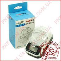 Универсальное зарядное устройство для мобильных аккумуляторов LCD + USB (Жаба)