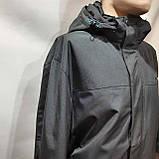 Мужская осенняя куртка р. 60,62,66,68 (Больших размеров) RLX с капюшоном черная, фото 5