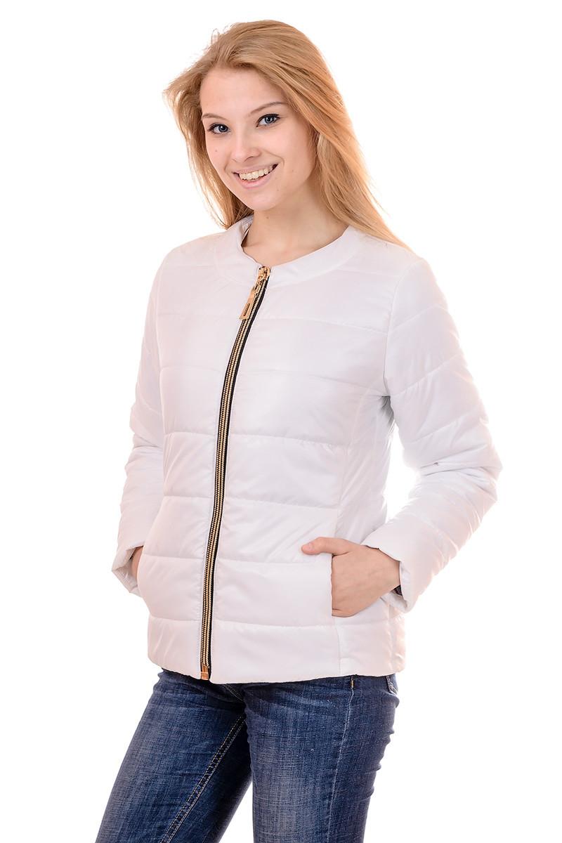 Женская демисезонная куртка IRVIC 48 Белый (IrC-FZ134-48)