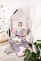 Дитячий комплект постільної білизни Слипик з разьемной блискавкою Киця, фото 6